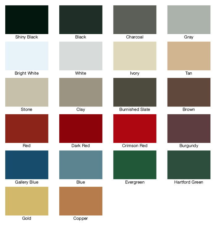 Community Metal - Metal Roof Colours
